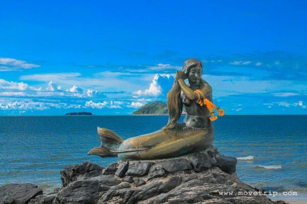 Golden Mermaid นางเงือกทอง