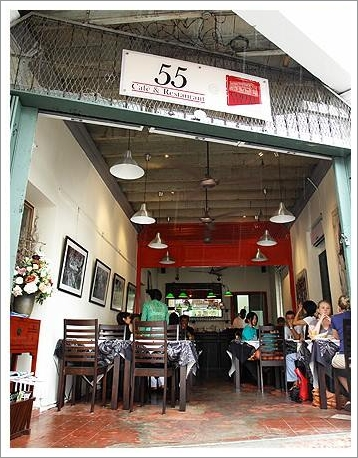 55 Café and Restaurant Penang