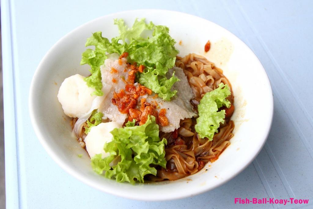 Fish Ball Koay Teow Soup