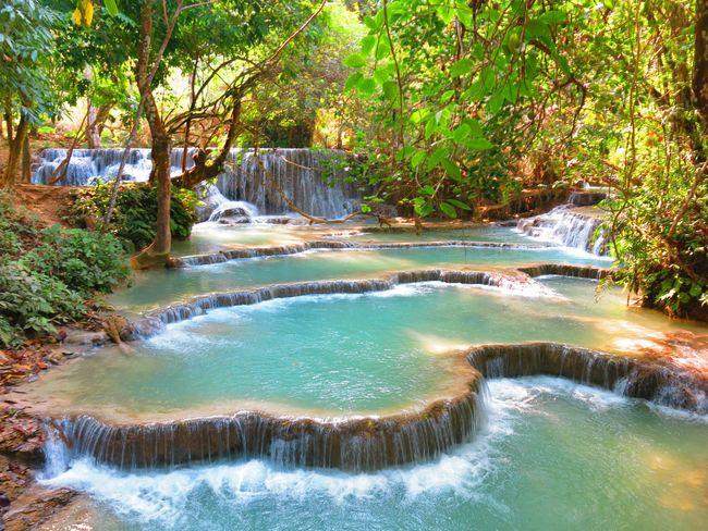Kuang-Si-Waterfall-Luang Prabang-Laos