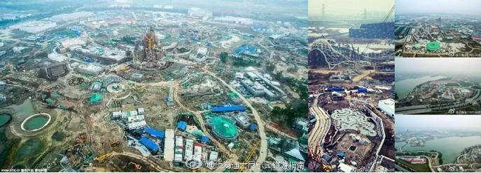 shanghai-disneyland-construction