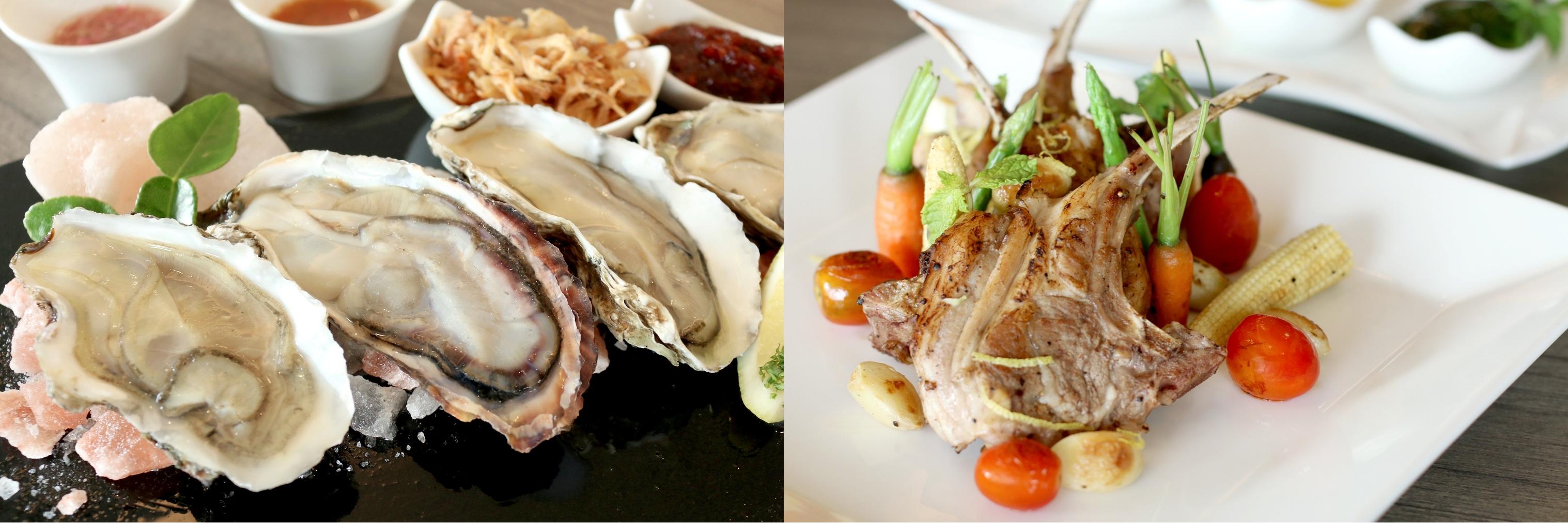 Seafood-international-buffet-at-the-eight- Mercure-Hotels-Bangkok-Siam